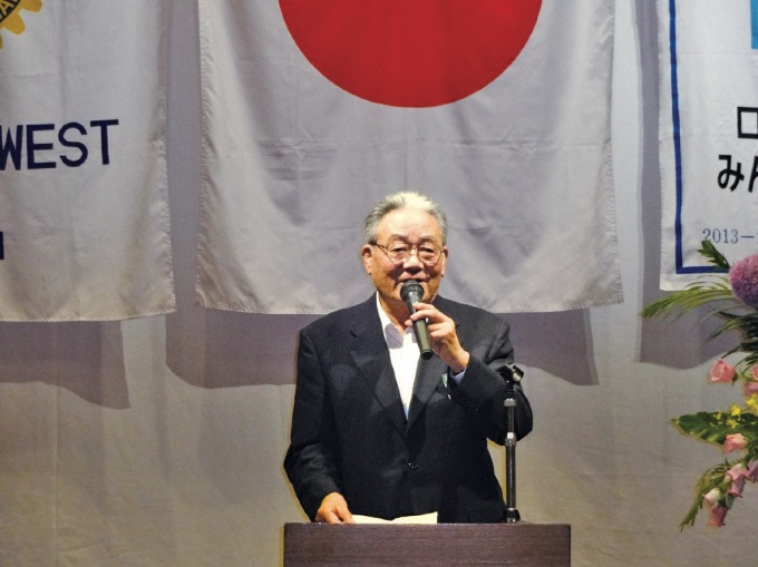 高松RC 請川雄三会長